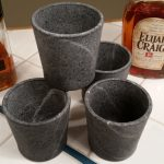 Soap Stone Whiskey Glasses by Taftware